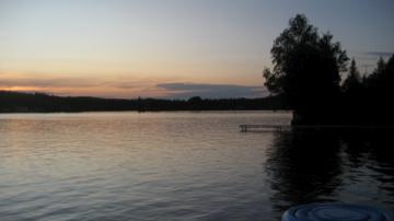 Summer sunset - Joe's Pond, West Danville, VT